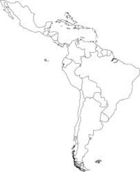 Labeling countries of the Spanish Speaking World (Smart Notebook)