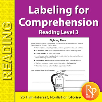 Labeling for Comprehension: Reading Level 3