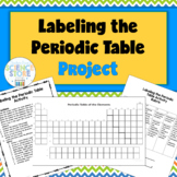 Labeling the Periodic Table Project