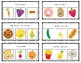 Labelling Clip Cards - Cute Food