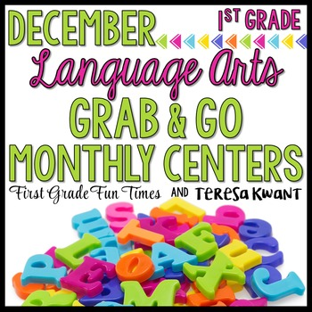 December Literacy Centers Christmas Activities