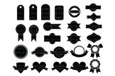 Labels (2) SVG, Label  svg files for Silhouette Cameo and Cricut. Label clipart