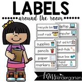 Classroom Labels with Pictures