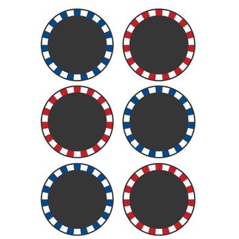 Labels & Banner Set - Patriotic {FREE}