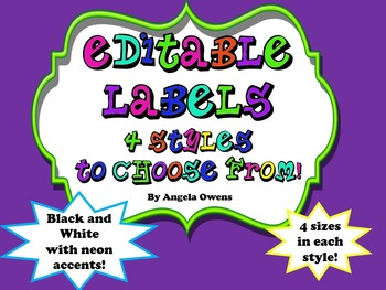 Labels:  Black and White