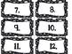 Labels Black and White Polka Dot