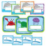 Classroom Labels - Cruise-Ship Nautical Theme