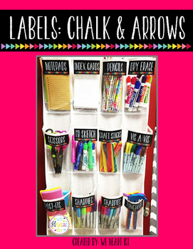 Labels: Chalk and Arrows
