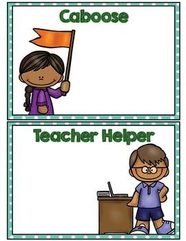 Labels:  Classroom Jobs- Aqua