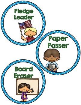 Labels:  Classroom Jobs- Blue