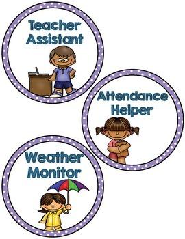 Labels:  Classroom Jobs- Purple