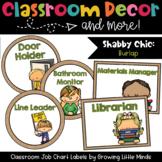 Labels:  Classroom Jobs- Shabby Chic Rustic Burlap decor
