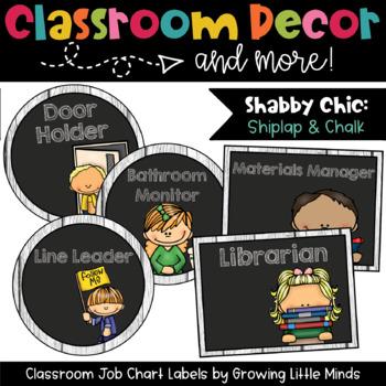 Labels:  Classroom Jobs- Shabby Chic Rustic Wood Chalkboar
