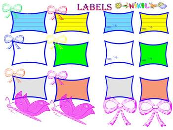Free Labels and frames