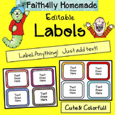Labels (Edit your own) FREE!!