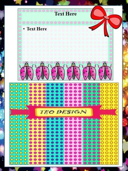 Classroom Decor - BUNDLE - Labels- Editable Template- Frames- Digital paper