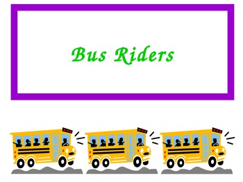 Labels For Lunch Count and Transportation