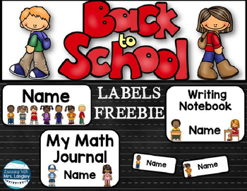 Labels Freebie