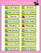 Classroom Jobs - Frog Theme Classroon Decor