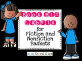 Labels Galore!  Book Bin Edition
