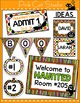 Halloween Decorations - labels for signs, posters and party decorations