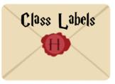 Labels - Harry Potter Themed Envelopes (Editable)