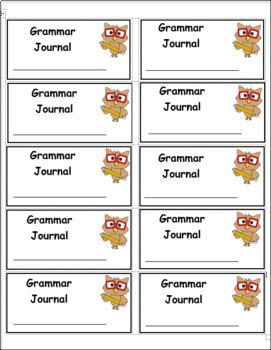 Labels: Journals, Notebooks, & Folders