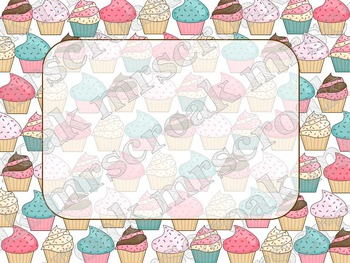 Labels: Lots of Cupcakes 10 per page