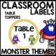 Labels | MONSTER THEMED