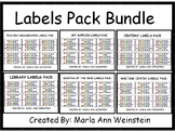 Labels Pack Bundle