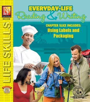 Labels & Packaging: Everyday-Life Reading & Writing Practice