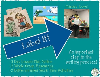 Adding Labels: Primary Writing Lesson