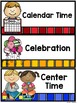 Classroom Labels Editable - School Supply and Schedule Cards