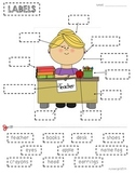 Labels- Text & Graphic Features for Interactive Notebooks