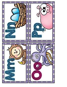 Labels- Word Wall Headers- Purple