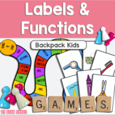Vocabulary Labels and Functions Preschool