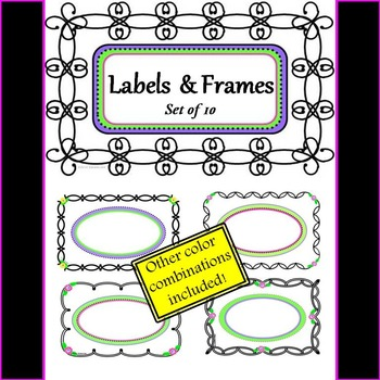Labels and Page Frames