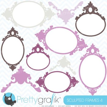 Labels and frames clipart commercial use, vector graphics - CL381