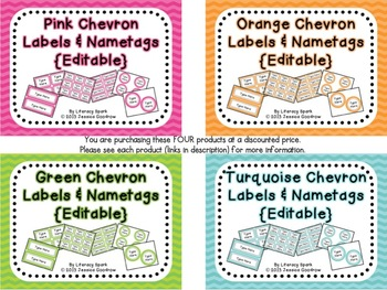 Labels and/or Name Tags - Combo Pack 1 {Editable}