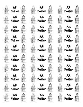 Labels for AR Folders