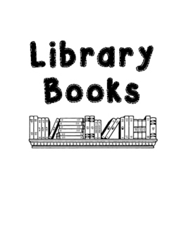 Labels for Books and the classroom