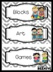 Labels for Centers