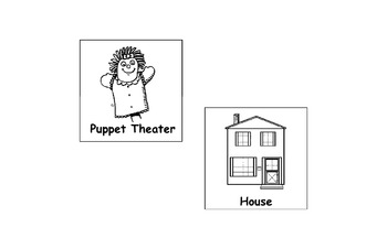 Labels for Centers in a Prek/K classroom