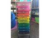 Labels for Colorful Organizer (Drawers) EDITABLE