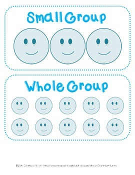 Labels for Differentiated Student Groupings - K-5