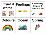 Labels for Early Years Book Bins