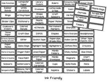 Labels for Everything Classroom