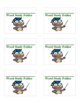Labels for Folders