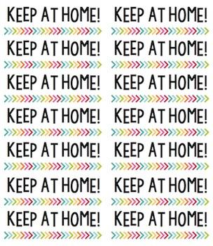 Labels for Homework Folders / Take Home Folders {FREE!}