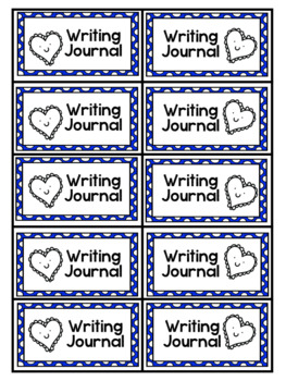 Labels for Interactive Journals